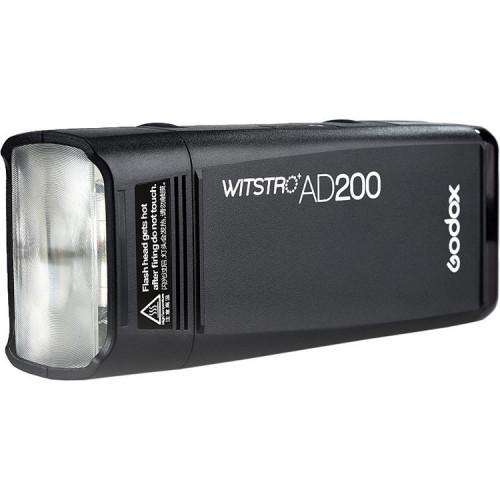 Вспышка аккумуляторная Godox Witstro AD200 с поддержкой TTL