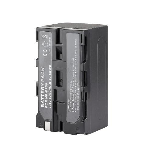 Аккумулятор литий-ионный GreenBean NP-F750 (6700 мАч)