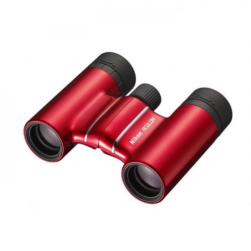 Бинокль Nikon Aculon T01 10×21, красный
