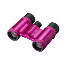 Бинокль Nikon Aculon W10 8×21, розовый