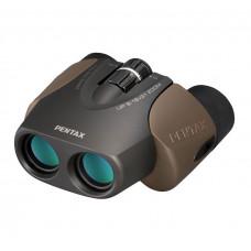 Бинокль PENTAX UP 8-16X21 коричневый