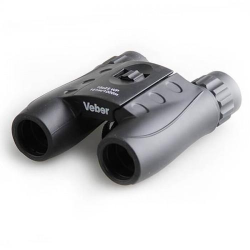 Бинокль Veber WP 10×25 черный