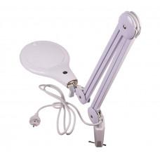 Лампа лупа настольная Bresser 2х, 125 мм, с подсветкой