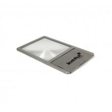 Линза Френеля Levenhuk Zeno 90, 2,5x, 48×45 мм, 1 LED, металл