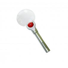Лупа Bresser 2,5x/4x, 88 мм, LED, металл