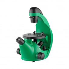 Микроскоп школьный Эврика 40х-320х инвертированный, лайм