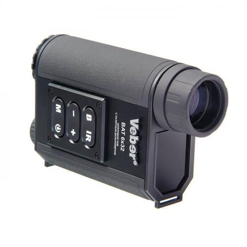 Монокуляр цифровой ночного видения Veber Bat 6×32 c дальномером